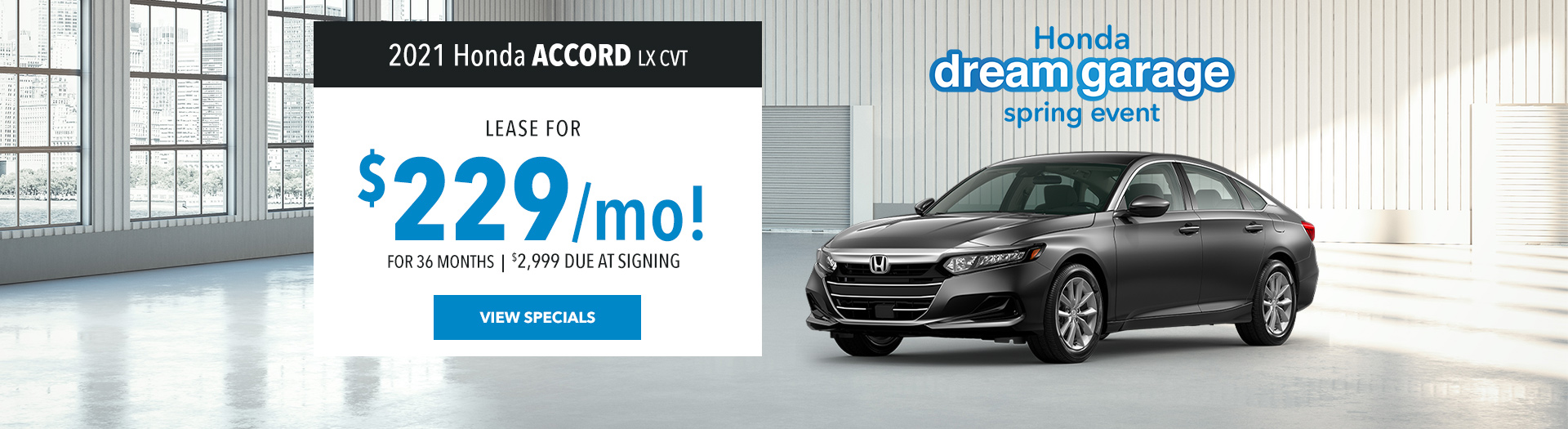 Accord March Offer