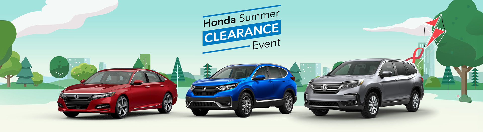 Honda Summer Sales Event